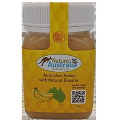 100% NATURAL AUSTRALIAN HONEY WITH BANANA