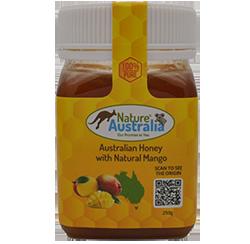 100% NATURAL AUSTRALIAN HONEY WITH MANGO
