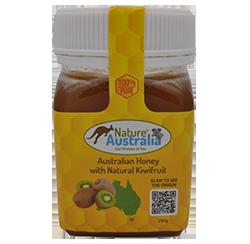 100% NATURAL AUSTRALIAN HONEY WITH KIWIFRUIT